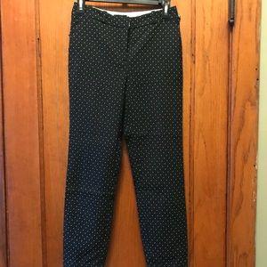 Top shop polka dot trousers